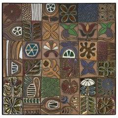Studio Ceramic Ceramic Tile Mural by Brent Bennett