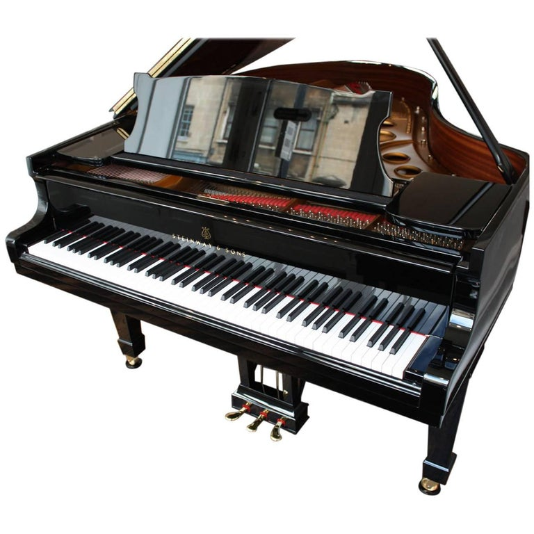 Steinway Model O Restored Grand Piano 1