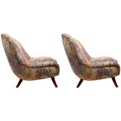 Pair Ernst Schwadron Club Chairs
