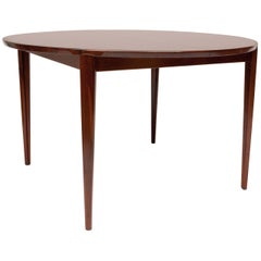 Mid-Century Danish Rosewood Dining Table by Rosengren Hansen