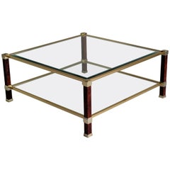 Table with Double Tray by Pierre Vandel, Paris, 1980