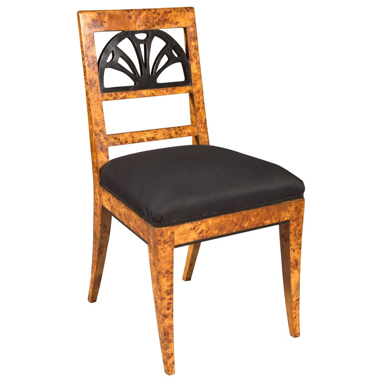 Very Elegant Chair in Classicist Style For Sale