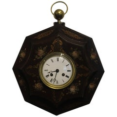 Mid-Century French Toleware Clock