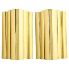 Jere Style Modern Brass Sconces
