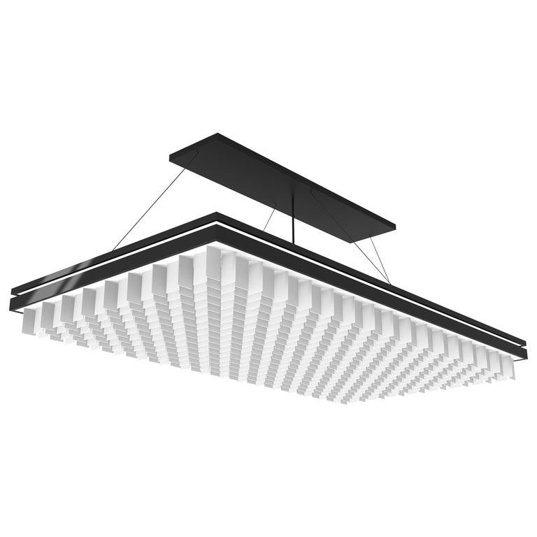 Rectangular Ceiling Light by Ray Studio Light