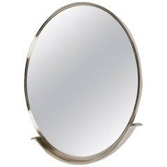 Circular Nickel Mirror, France, Contemporary, 2016