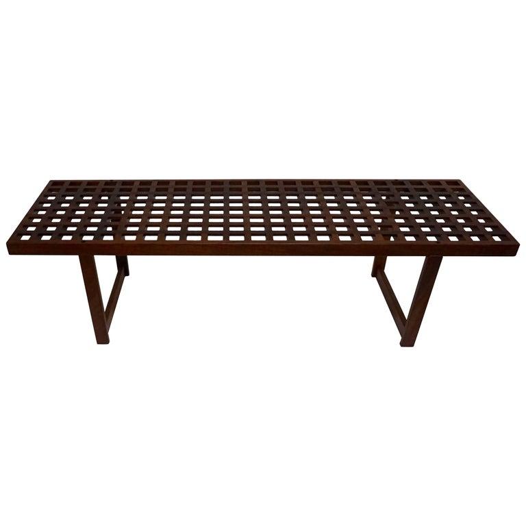 1960 Drylund Danish Teak Coffee Table