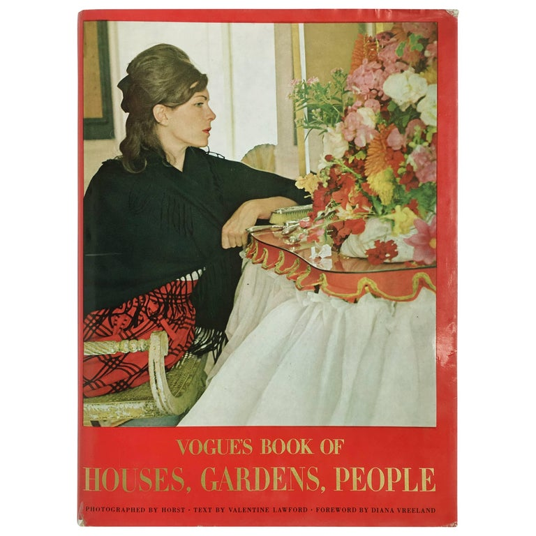 Horst P. Horst Vogue's Book of Houses, Gardens, People Book 1968