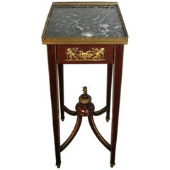 Antique Museum Stand or Pedestal Attributed to Linke
