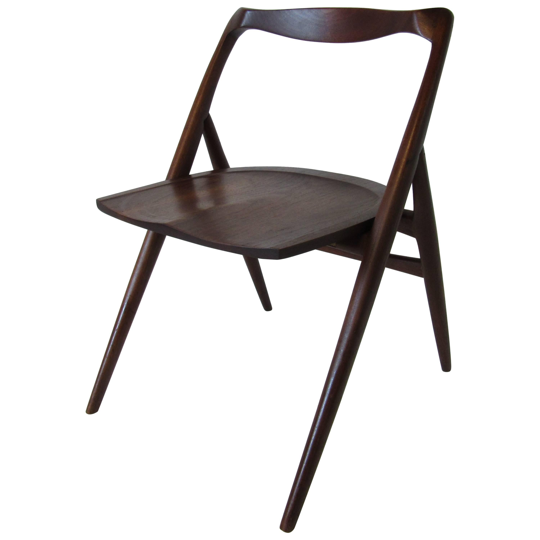 George Suyeoka Studio Chair Prototype in the Style of George Nakashima