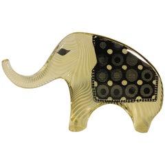 Abraham Palatnik Lucite Elephant Sculpture