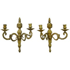 Pair of Period Gustavian Sconces