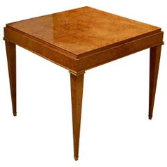 Dominique French 1940s Game Table