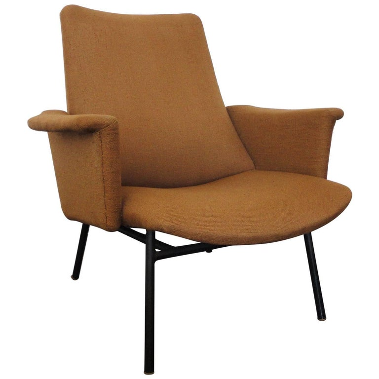 Pierre Guariche Lounge Chair for Steiner, France 1950s