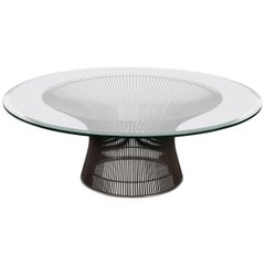 Warren Platner Knoll Bronze Coffee Table