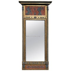 Swedish Neoclassical Pier Mirror