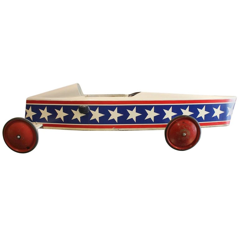 1950s American Soap Box Derby Car