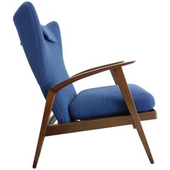 Blue Knoll Antimott Reclining Wingback Chair