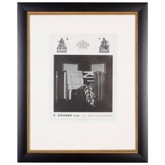 Rare 1930s, French Goyard Print Ad