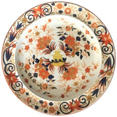 Wedgwood Pearlware Imari Decorated Plate