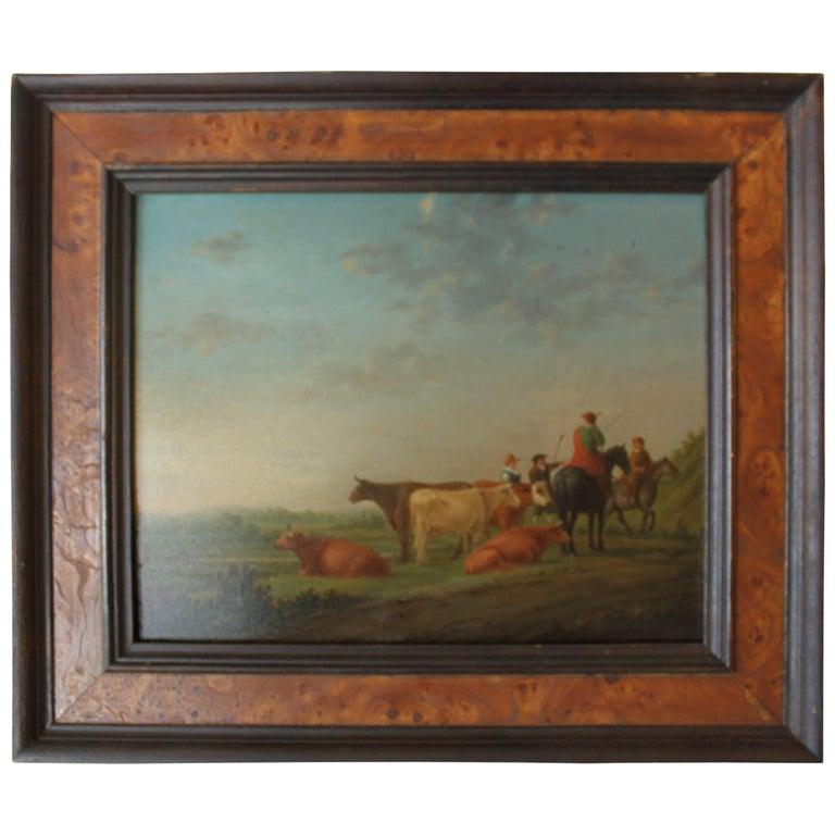 English Landscape Oil on Board