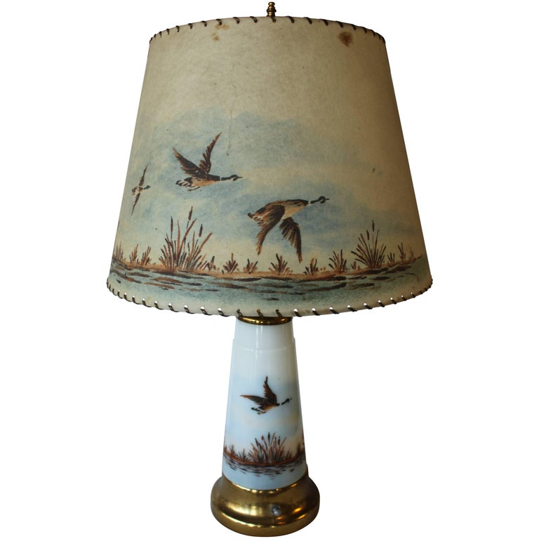 Vintage Country Cottage Lamp At 1stdibs
