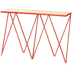 Limited Edition Giraffe Console Table with Granite Top