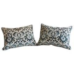 Pair of Baroque-Style Throw Pillows