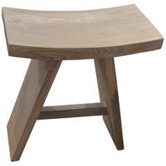 Andrianna Shamaris St. Barts Tall 'A' Teak Wood Bench