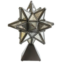 Decorative Star Sculpture on Stand, Estrella de San Miguel, 1980s
