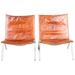 Pair of PK 22 Lounge Chairs