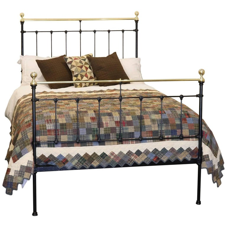 Double Victorian Bed In Black MD52 At 1stdibs