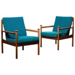 1950s, a Pair of Chairs by Torbjørn Afdal for Sandvik & Co Mobler