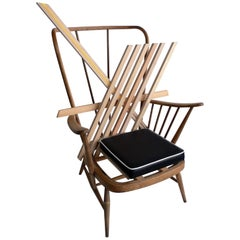 Contemporary 'Another Chair' in Beechwood from the Boarded Up Collection