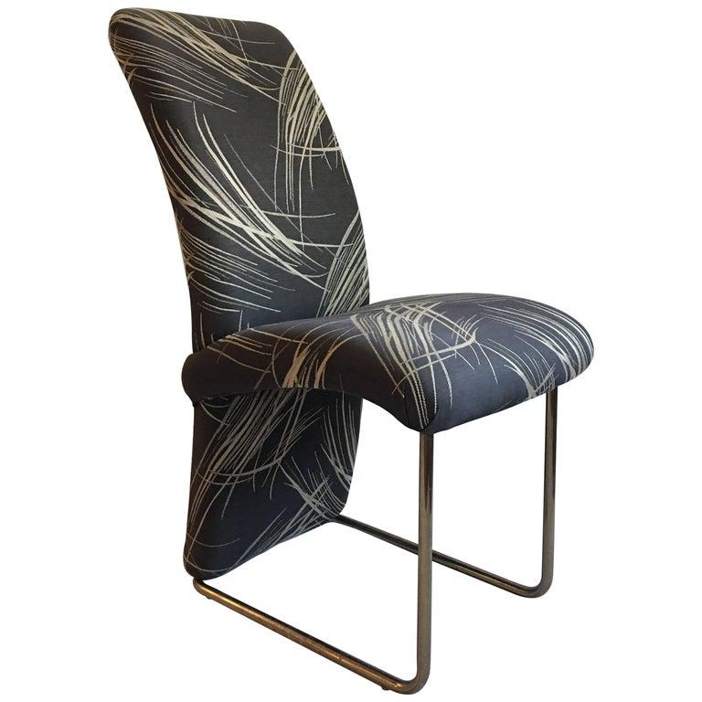 Milo Baughman for Thayer Coggin Tubular Brass Chair