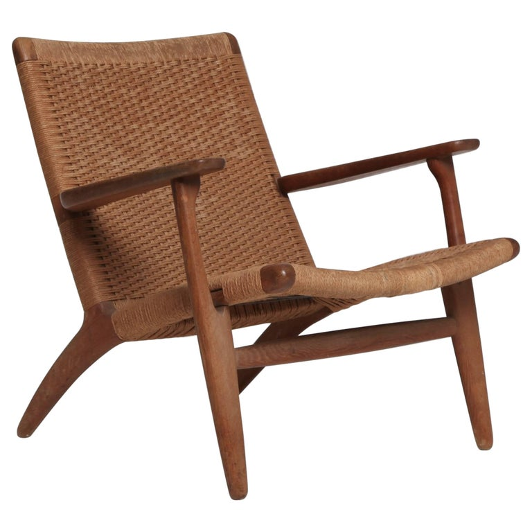 hans wegner ch 25 chair for carl hansen and son 1950s 1960s denmark for sale at 1stdibs. Black Bedroom Furniture Sets. Home Design Ideas