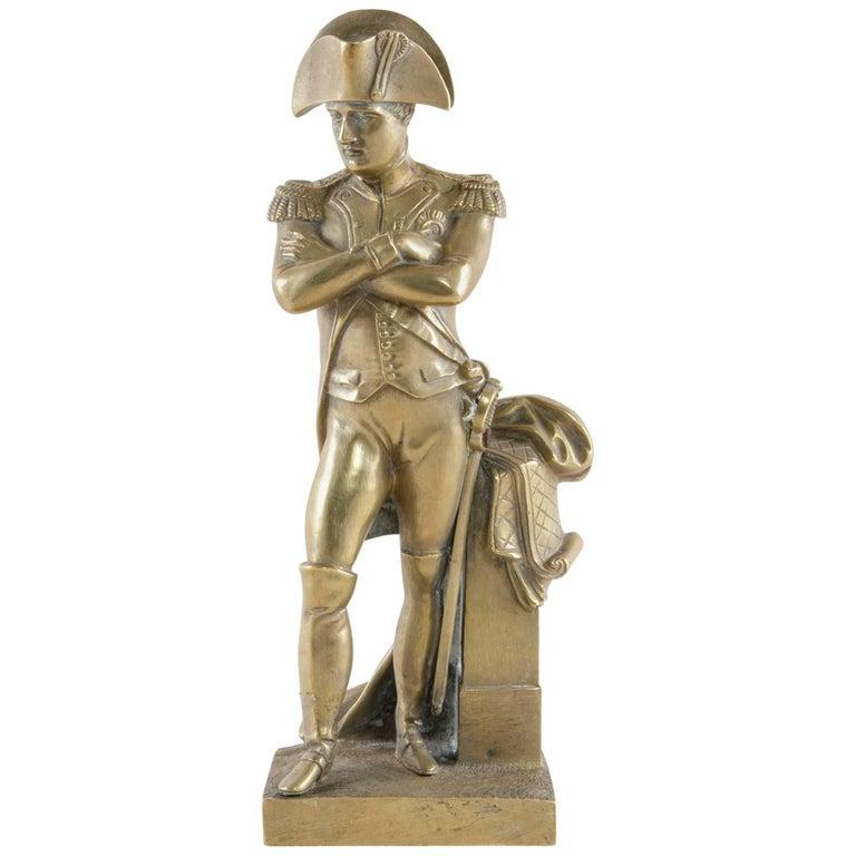 Late 19th Century French Bronze Statue or Sculpture of Napoleon Bonaparte