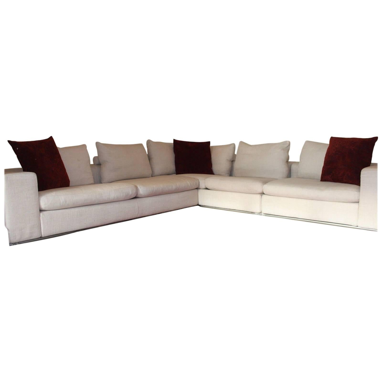 flexform modular sectional sofa suite by antonio citterio by harrods 1