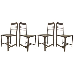 Set of Four Industrial Style Chairs