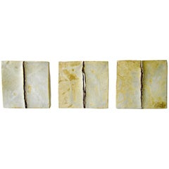 Roberts California Studio Stoneware Triptych