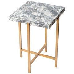Square Concrete Table