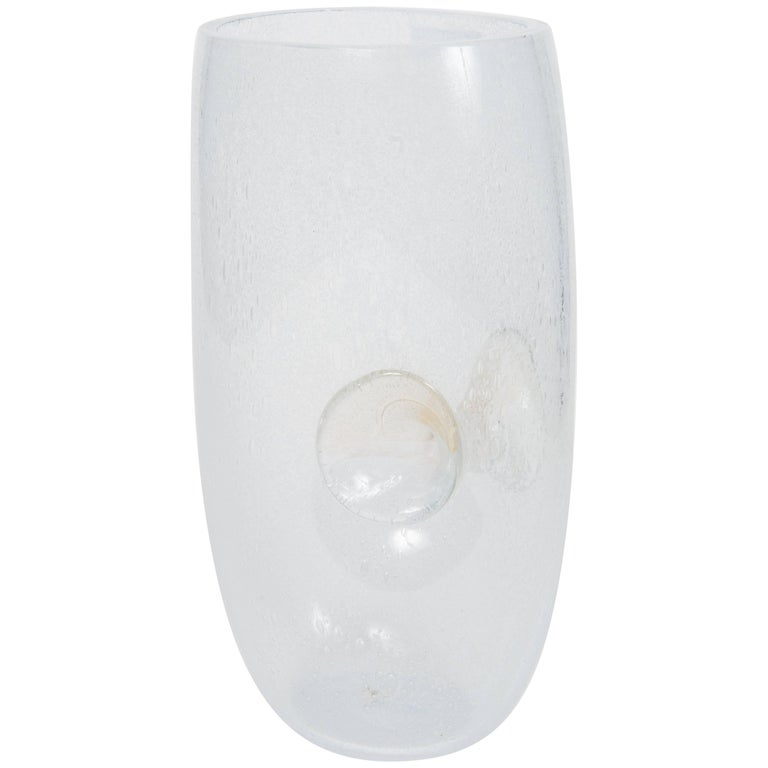 Glass Vase by Venini For Sale