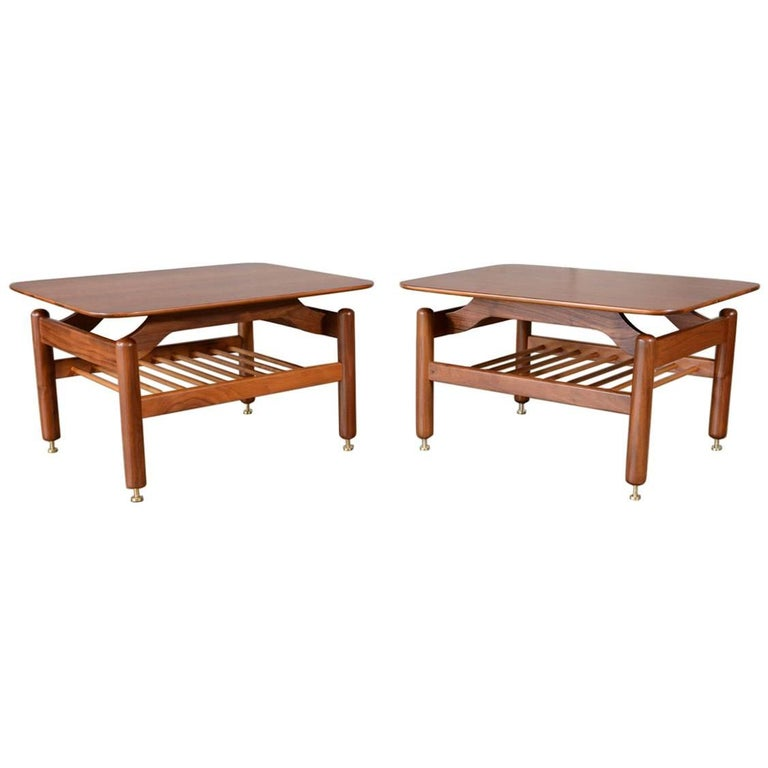 Pair of Side Tables by Greta Grossman