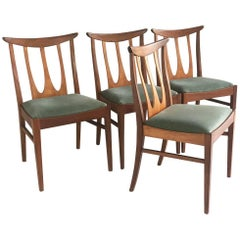 G Plan Style Dining Chairs, Set of Six