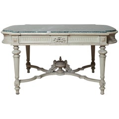 French 19th Century Louis XVI Desk or Centre Table