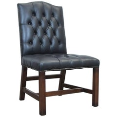 Original Centurion Chesterfield Leather Chair Green