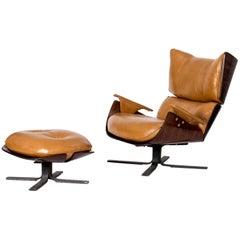 Jorge Zalszupin Paulistana Lounge Chair, Owned by Oscar Niemeyer, Brazil, 1960s