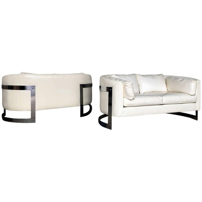 Milo Baughman Cantilever Sofas or Loveseats For Sale