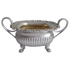 Two Handled Bowl Made in Sheffield in 1816 by Robert Gainsford