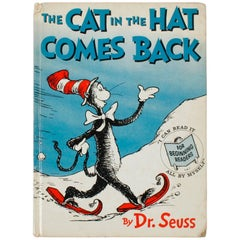 """The Cat in the Hat Comes Back"" Book, First Edition by Dr. Seuss"